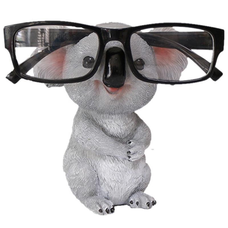 Статуэтки коалы, статуэтки животных, подставка для очков, карандаш, держатель для солнцезащитных очков, настольный домашний декор, подарок