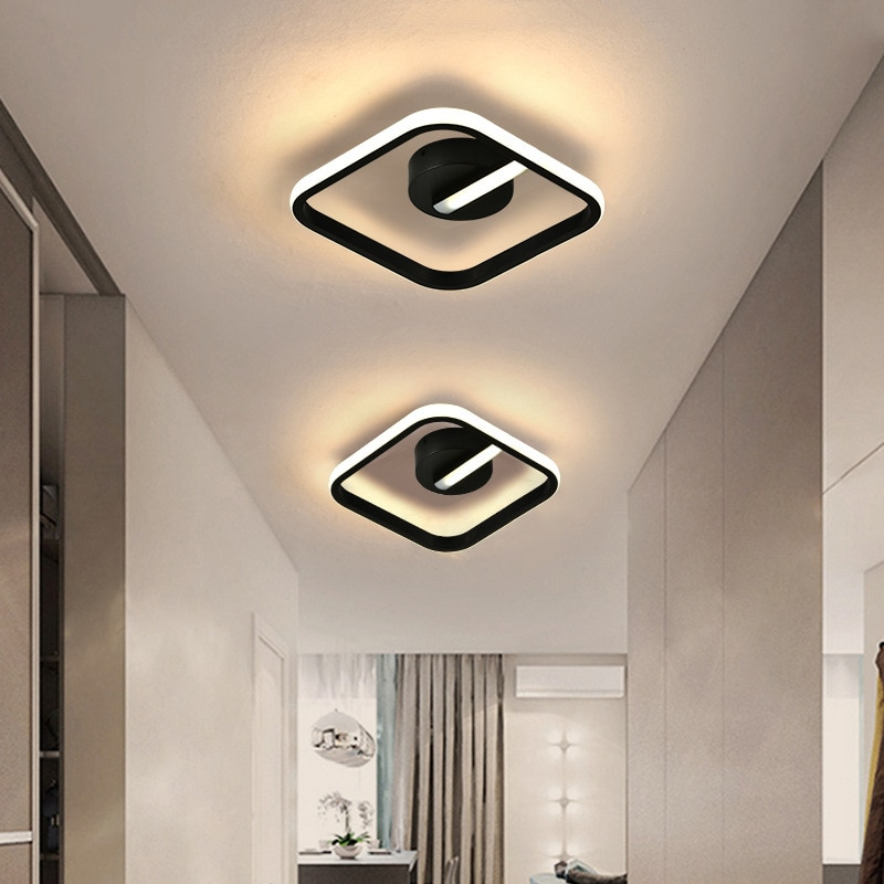 luz de teto moderna lampada led para corredor sala estar quarto estudo luminarias