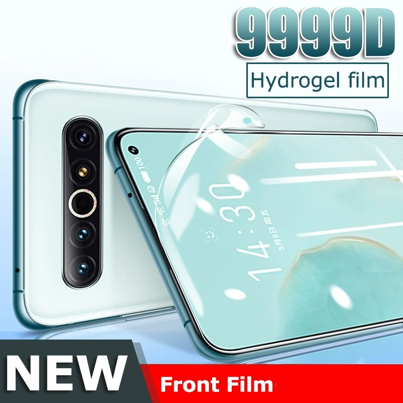 Case Cover For Meizu Pro 7 / Pro 7 plus Screen Protector Explosion-proof Hydrogel Film FOR meizuPro7