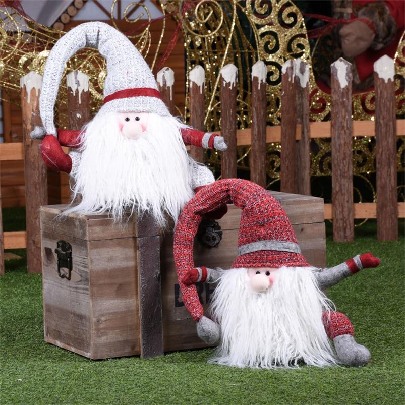 Adornos navideños De Santa Claus navidad 2020 decoraciones De árbol De Navidad Regalos De navidad para el hogar feliz Navidad regalo para niños
