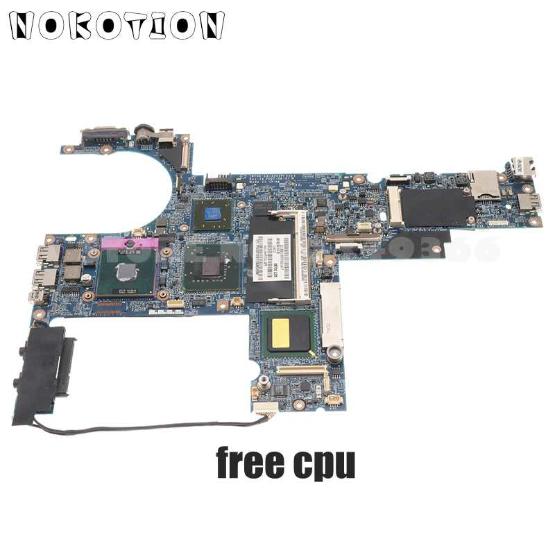 NOKOTION 482583-001 482584-001 446403-001 متوافقة مع HP كومباك 6910p لوحة الأم الخاصة بالكمبيوتر المحمول DDR2 128MB الرسومات وحدة المعالجة المركزية المجانية