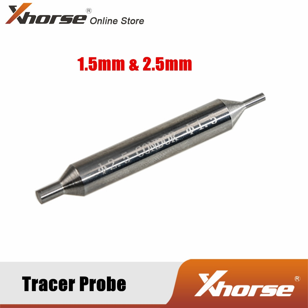 Xhorse Tracer Probe 1.5 Mm and 2.5 Mm.for Keycutter Condor XC-002 Mechanical Key Cutting Machine 5PCS/Lot