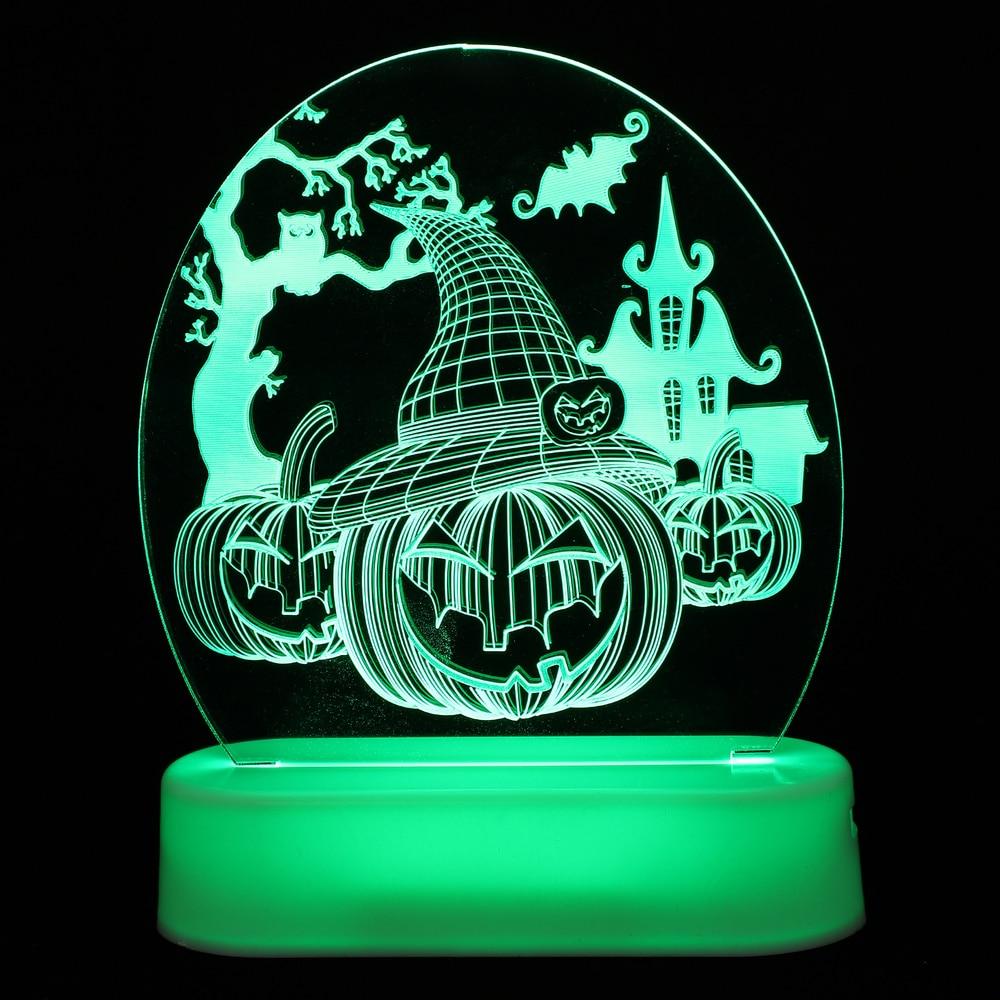 Портативная лампа в виде тыквы, декоративные фонари, уличные раскладные светильники