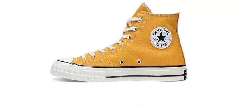 Chuck la versión retro 1970s Estrella zapatos unissex tênis amarelo zapatos de...