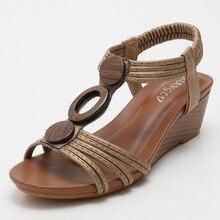 Woman Sandals Rome Gladiator Style Sandals Fashion Shoes Non-slip Ladies Casual Beach Slides Women F