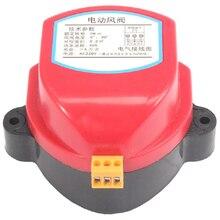 Actionneur 220V pour soupape damortisseur dair conduit dair électrique amortisseur motorisé pilote de soupape de vent 1NM pour tuyau de Ventilation