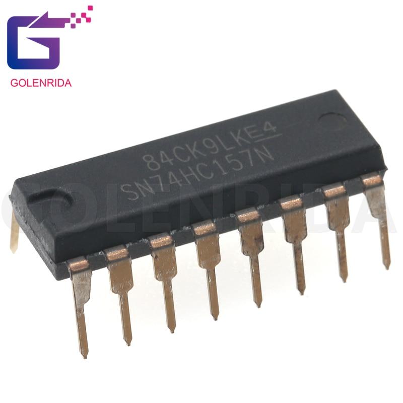 10PCS SN74HC157N DIP16 HD74HC157P SN74HC157 DIP 74HC157N 74HC157