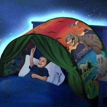 Kinder Winter Wunderland Prinzessin Zelte Foutou Kinder Spielhaus Pop Up Bett Zelt Heißer Traum Zelte Haushalt Handelswaren Regenschirm
