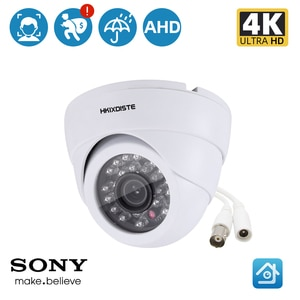 Full HD 8MP AHD Camera  Motion Detection 24 Infrared LEDS 2.0MP Resolution With HD 3.6mm Lens CCTV Home Security Night Vision
