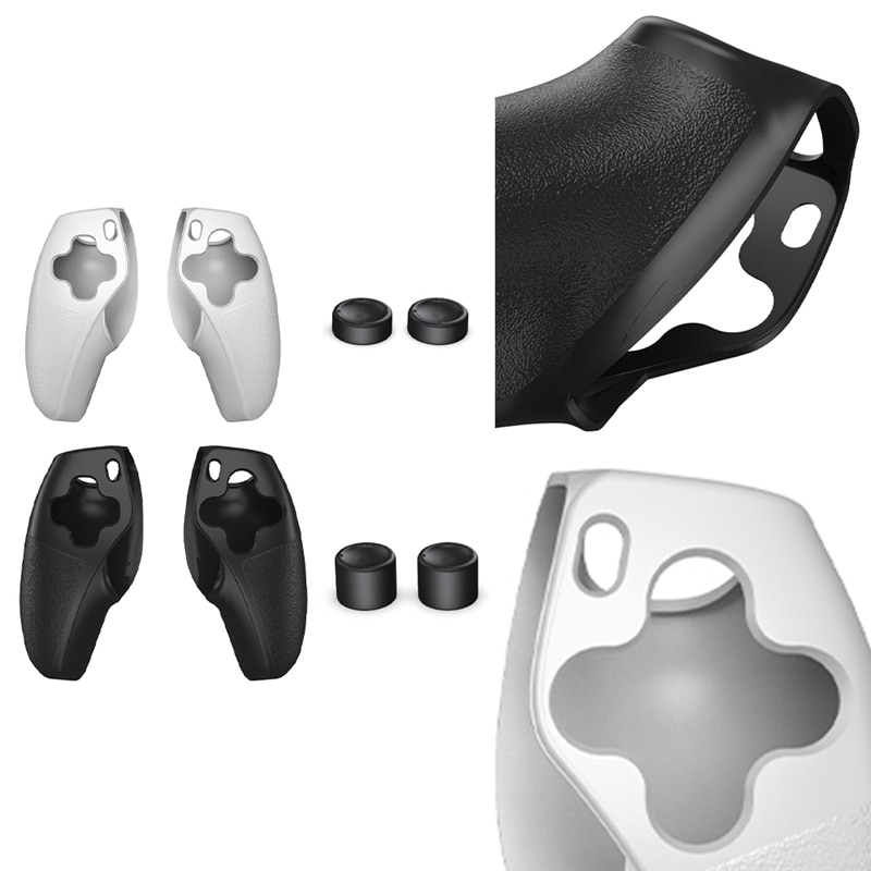 Game Controller Silicone Case for PS5 Split Silicone Sleeve Gamepad Protective Sleeve for Thumb Gamepad Skin