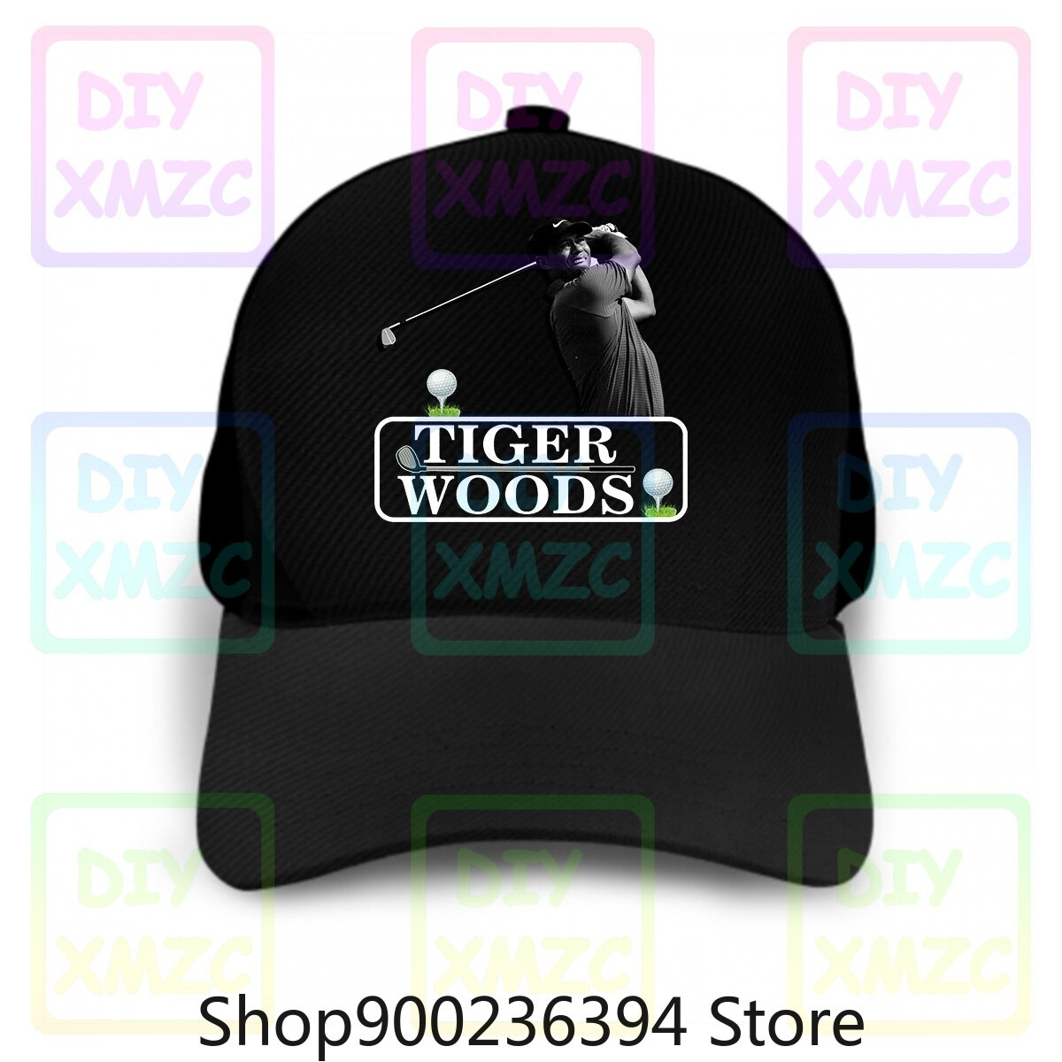 Los Tigres Woods 2019 gorra de béisbol nacional Golf Woods niños adultos sombreros superior