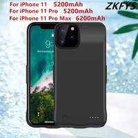 battery charging cover for iphone 11 pro external power bank phone fast charger case for iphone 11 pro max portable power cases