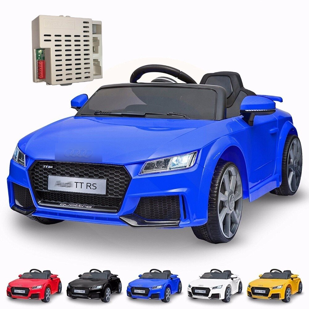 Wellye Kids электрическая езда на автозапчасти 2,4g Bluetooth пульт дистанционного управления приемник коробка для Mercedes B-m-w Audi Range Rove Jeep