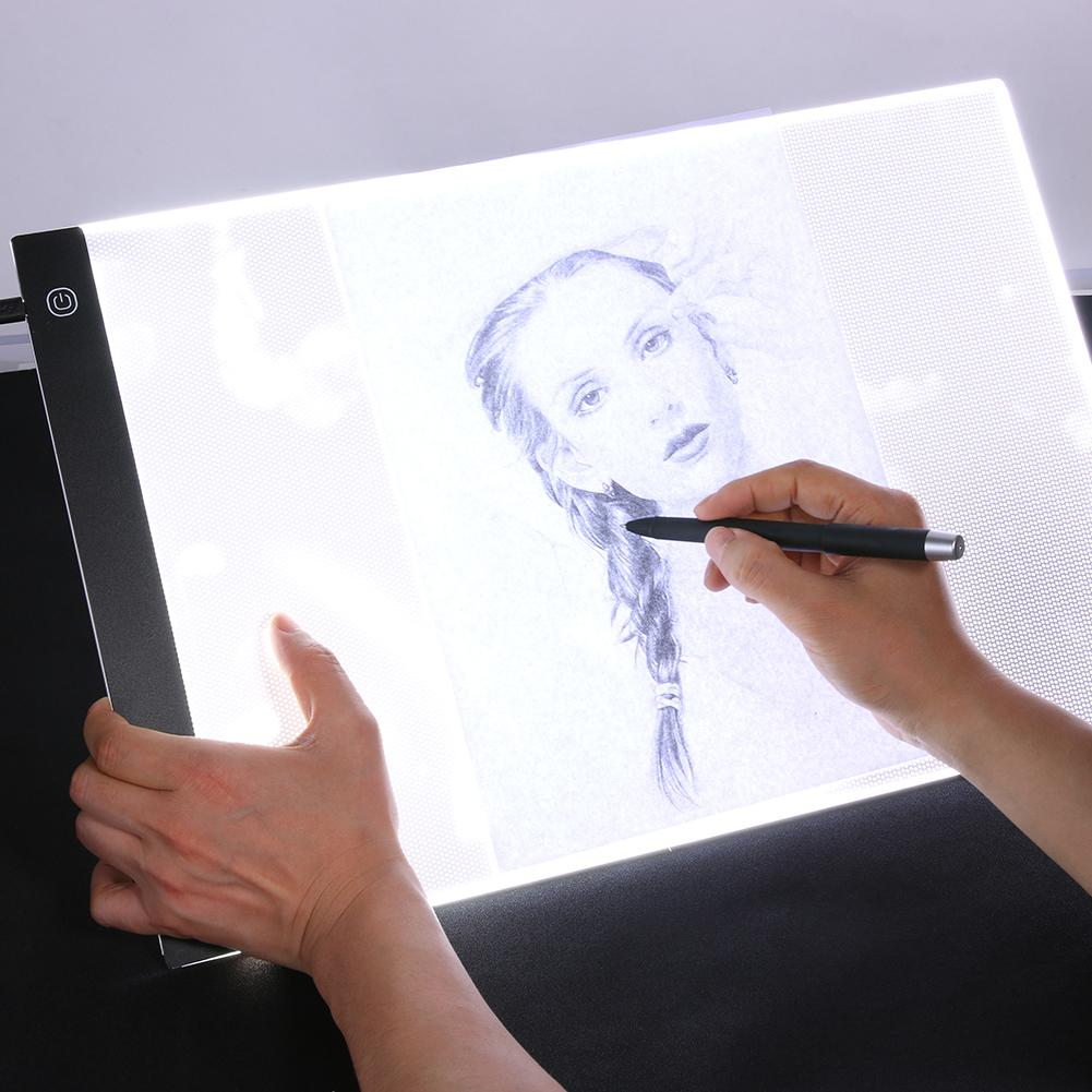 A3 LED عكس الضوء نسخ المجلس الرسوم المتحركة رسم قرص اللمس نسخة مكتب الجدول العملي التنميط مجلس الرسوم المتحركة رسم
