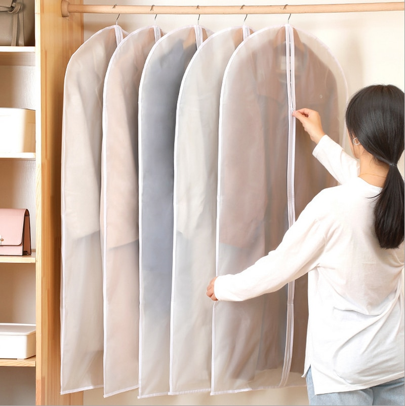 Colgador de ropa para colgar ropa, bolsa de traje, funda para abrigo, bolsas hogar almacenamiento, caja organizadora, armario colgante, ropa