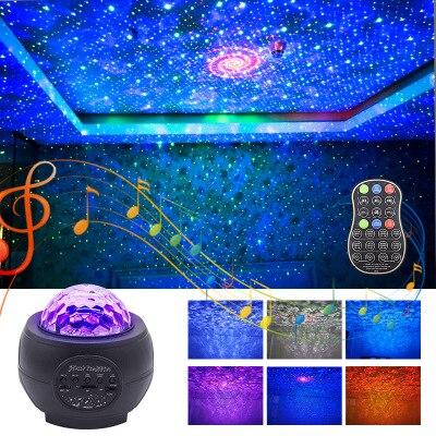Дискотека Вечеринка Свет Сцена Свет Строб Универсальный LED DJ Бал В помещении +% D0% A1olored Танец Звездное Проекция Лампа