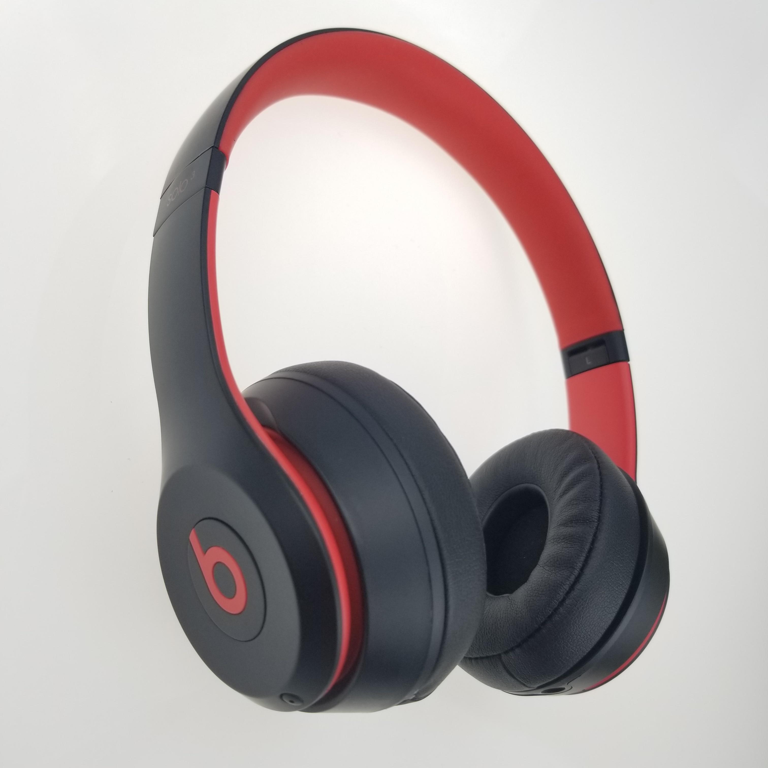 Beats Solo Original sobre-oreja auriculares manos libres inalámbrico Bluetooth carga rápida Anti ruido