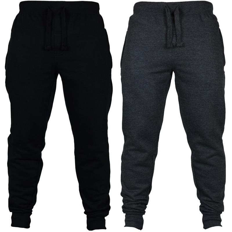 Men's Casual Pants Joggers Male Harem Trousers Sweatpants Jogger Elastic Fitness Workout pants lacks Wear Drawstring