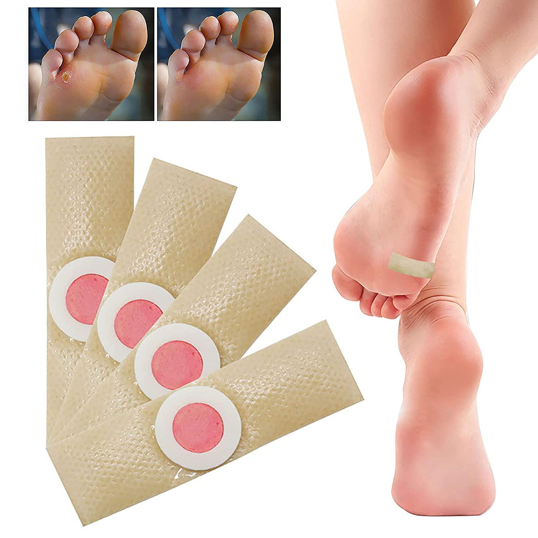 Pé milho assassino calos verrugas plantar espinho alívio da dor gesso ferramenta de cuidados com os pés etiqueta médica toe protector