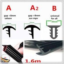 Car Rubber 1.6m plastic Dustproof Sealing Strip Dashboard Windshield for BMW 330e M235i Compact 520d 518d 428i 530d 130i
