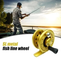 sl40 60 series fishing reel fly ice assembly reel 11bb 11 gear all metal structure wheel ice throwing fishing accessories