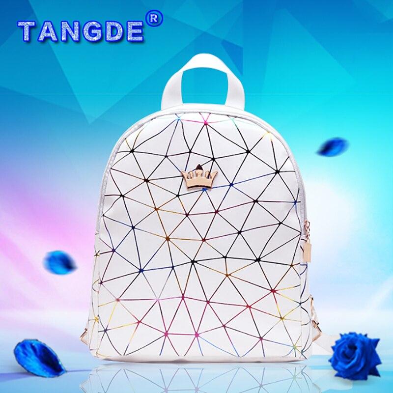 2019 new super fire wild fashion girl geometry small backpack bag backpack