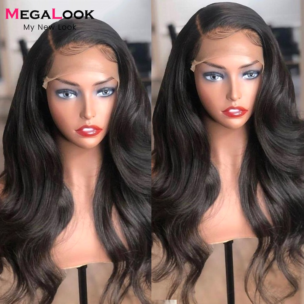 13x4 13x6 Lace Front Wig HD Transparent Lace Frontal Wigs For Women 4x4 Closure Wig PrePlucked Brazilian Human Hair Wigs 30 Inch
