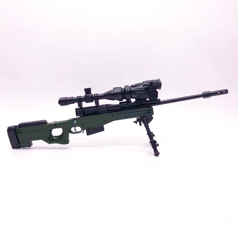 16 AWP karabin snajperski 4D montaż pistolet zabawkowy Model