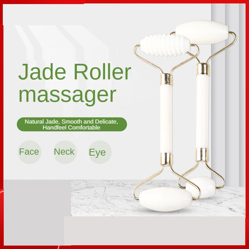 Фото - Ladies Natural Jade Roller Skin Care Beauty Health Face Massage Sticks Thin Face Massager Facial Shaping Face-lift Gua Sha amkee face lift 3d massager roller machine thin face skin tighten body shaping chin facial massage relaxation v face massager
