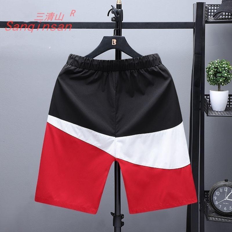 Summer 2021 Men's Shorts Sports Casual Men's Shorts Loose Beach Pants Capris Wear Fashion Running Pa