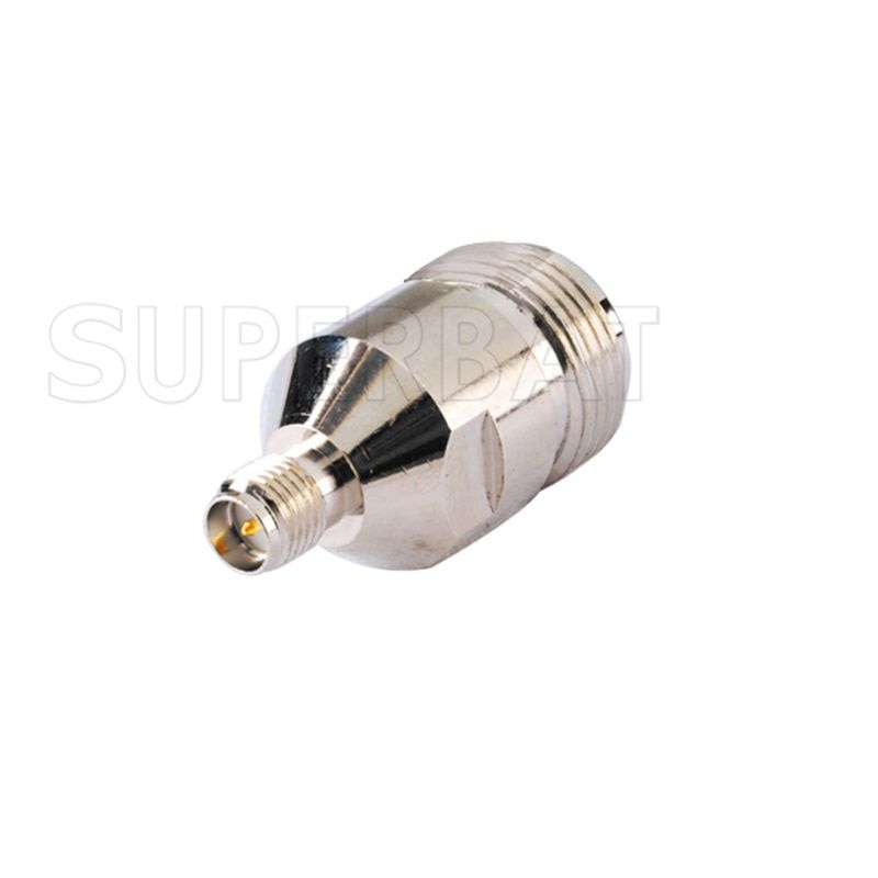 Superbat SMA-N Adapter RP-SMA Jack (male pin) to N Female Straight Connector