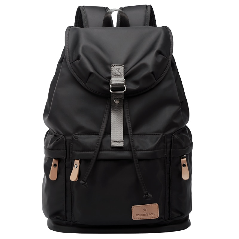 New fashion mens backpack vintage canvas school bag travel bags large capacity 14inch laptop