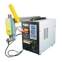 lithium battery spot welding machine high power small hand held nickel sheet welding machine commercial with extended arm head
