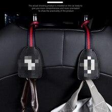 2021 auto Leder Mode multifunktions haken up auto hinten sitz kopfstütze hanger haken hängen tasche tuch lebensmittel clip auto clip