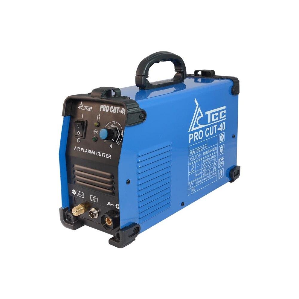 -Cortadora por plasma TCC PRO Corte-40 5.4kVa 220 ± 15% 20-40A cortar a 12mm PV80 % 8kg