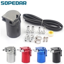 SOPEDAR déflecteur en aluminium 3 ports   Prise dhuile, peut contenir, Kit de réservoir, réservoir dhuile, accessoires de voiture universels colorés