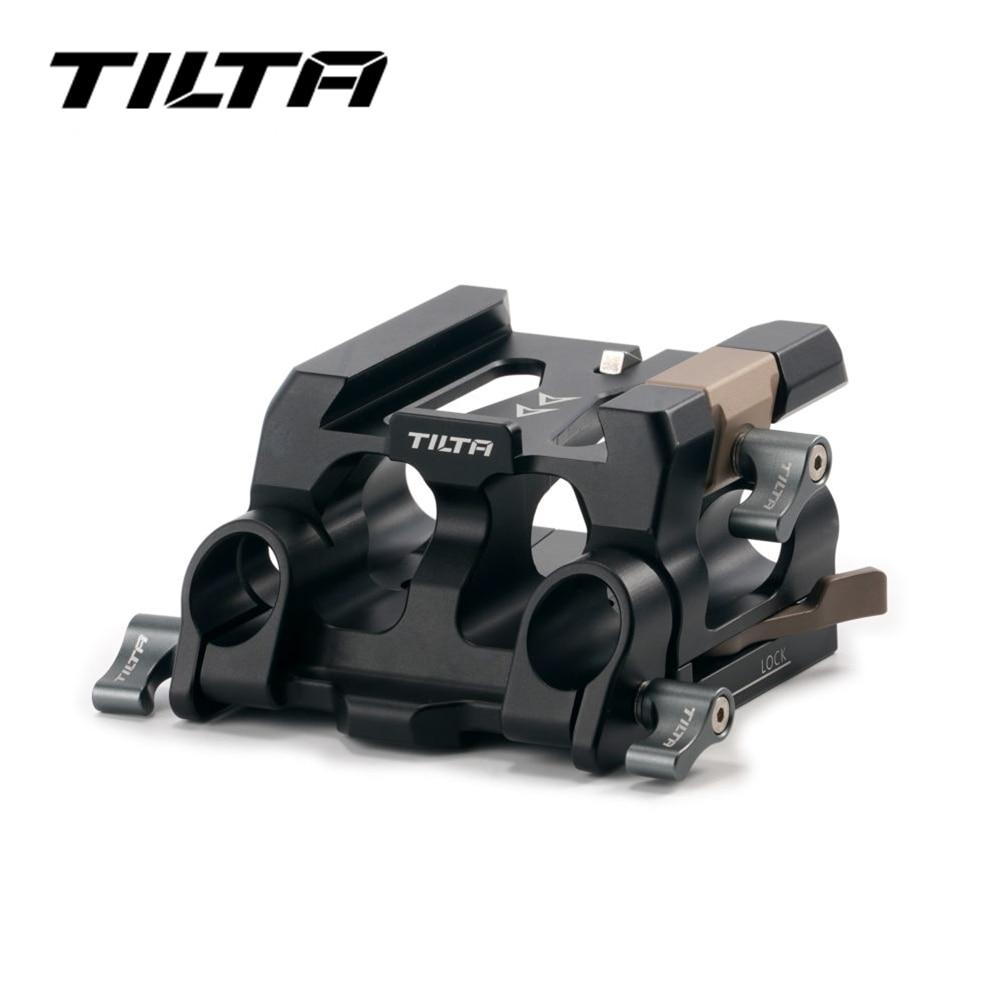 تيلتا 15 مللي متر LWS baseboard الإفراج السريع قاعدة TA-BSP4-15-B للكاميرا قفص ل الأحمر كومودو ، سوني FX3 ، A7C و باناسونيك BGH1