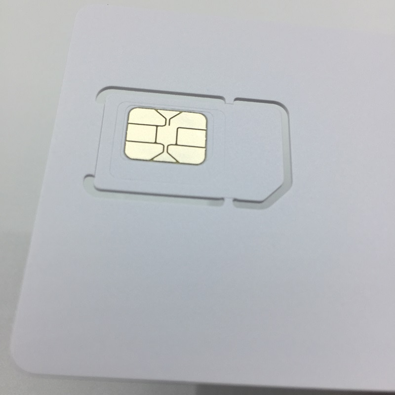 100pcs/lot Writable Programable Blank SIM USIM Card 4G LTE WCDMA GSM Nano Micro SIM Card with Micro Nano Size 2FF 3FF 4FF 3 IN 1 enlarge