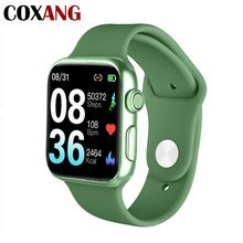 Reloj inteligente COXANG P20 con podómetro Monitor de ritmo cardíaco Medición de la presión arterial pantalla completamente táctil Smartwatch para Android IOS
