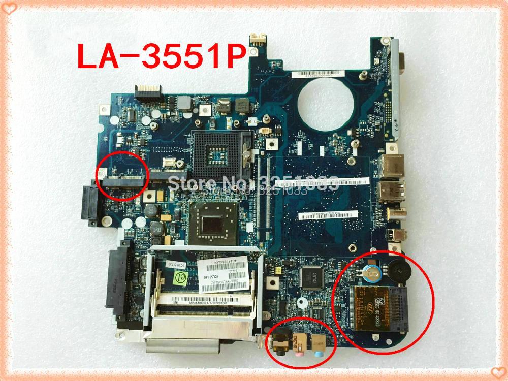 Placa base LA-3551P MBAHE02001 para Acer aspire 5320 5720 5720G MB.AHE02.001 ICL50...