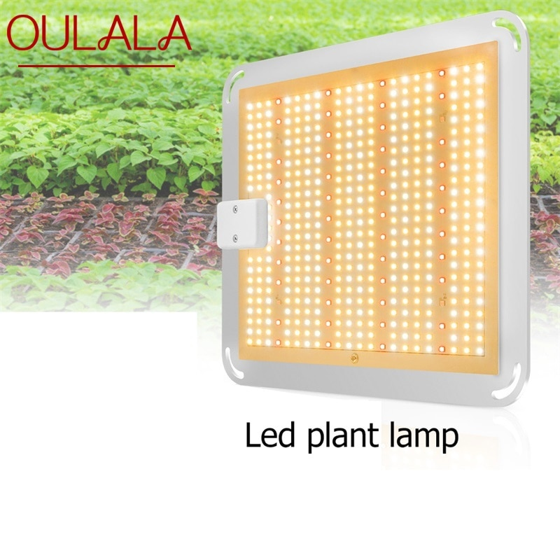 OULALA LED Grow Lights Plant Growth Lamp Quantum Board 400W Waterproof IP66 Full Spectrum For Succulent Greenhouse Plant