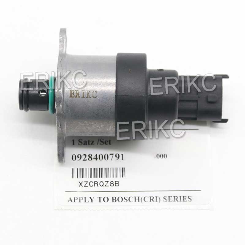 ERIKC 0928400791 Auto Válvula de Control de presión de combustible 0 928 400 791 bomba de sistema de combustible válvula dosificadora de entrada 0928 400 791 para IVECO