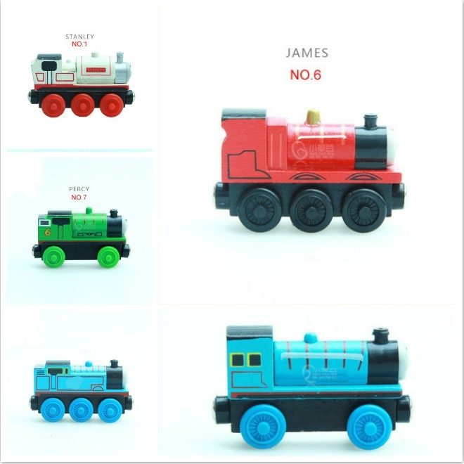 Emily Train Magnetic Wooden Trains Model Magnetic Toys Christmas Gift for Kids Children Fit Wood Biro  Tracks