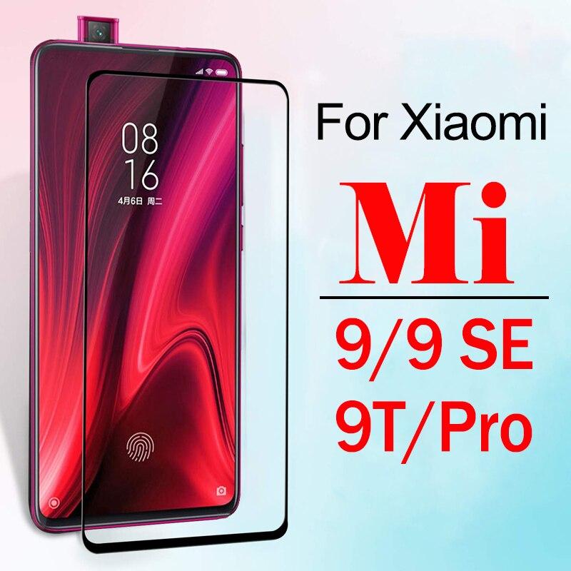 Mi9 se Vidro De Proteção Sobre Para Xiaomi Ksiomi 9 T 9 T Protetor de Tela Pro Xioami Xiomi Meu 9se T9 mi9se armadura Temperado Glas Filme
