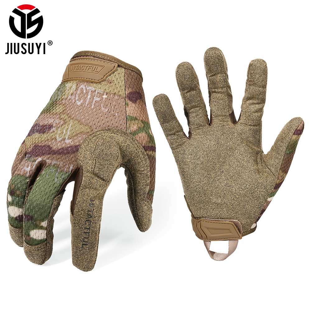 Tactical Army Long Gloves Breathable Military Paintball Airsoft shooting Combat Full Finger Glove Me
