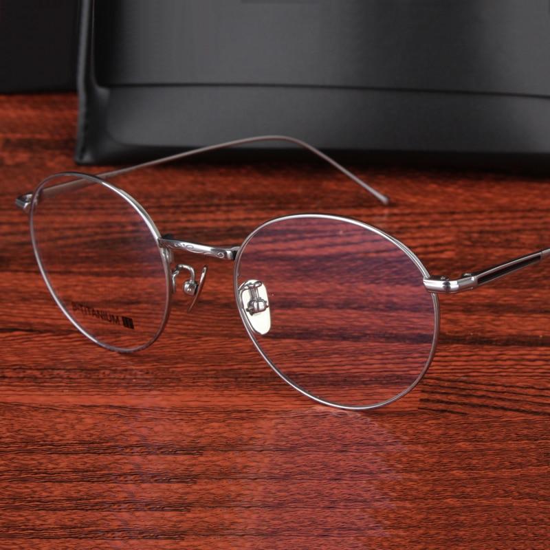 Gafas Cubojue de titanio para hombre y mujer, gafas ovaladas finas de marca, gafas graduadas para hombre, gafas graduadas ópticas para miopía de lectura, dioptrías
