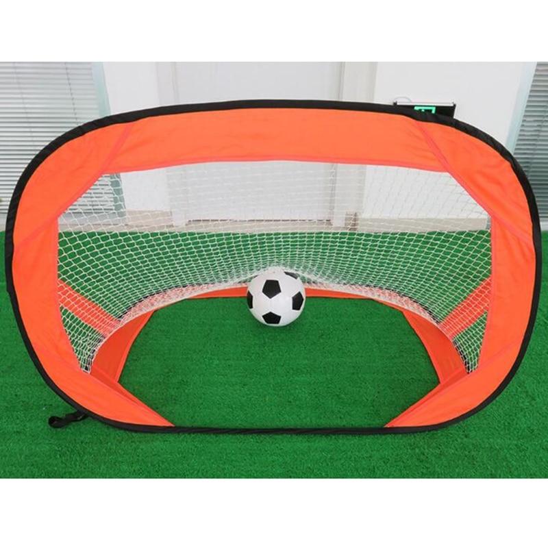 Multf-uction Portable Outdoor Sports Toys For Children Folding Goal Kids Football Net Door Set Kids Football Gate Accessories