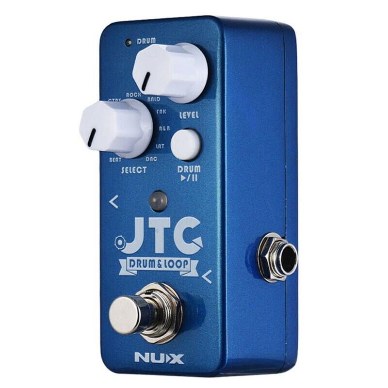 Nux Ndl-2 Jtc 6 Min Looper Pedal Guitar Loop Station Musical Electric Guitars Synthesizer for Acoustic Guitar Processor 11 Drum enlarge