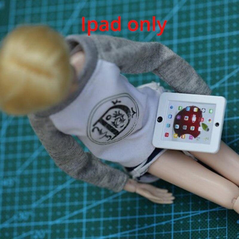 1 pièces accessoires de poupée Original métal ipades/lunettes modèle jouet pour 1/6 blyth poupée fille jouet