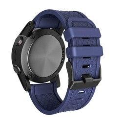 Pulseira de pulso do esporte do silicone correia de relógio de substituição cinto para garmin fenix/fenix 2 nov99